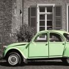 Citroën 2CV, maar meer de lelijke eend