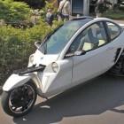 Carver One: unieke auto met één voorwiel