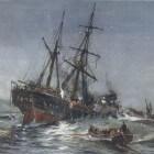 Wrakken in de Waddenzee