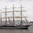 Windjammer Kruzenshtern - opleidingsschip uit Rusland
