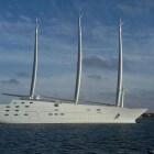 White Pearl – mega zeilschip en stealth jacht