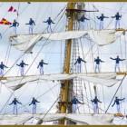 De Dewaruci, het grootste Indonesisch opleidingsschip