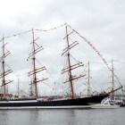 De Sedov, grootste nog varend traditioneel zeilschip