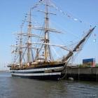 De Amerigo Vespucci, Italiaans tall ship met drie masten