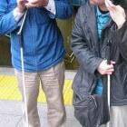 Blind of slechtziend: Zich veilig verplaatsen in de winter