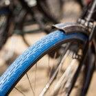 Fietsen met blauw voorwiel: Swapfiets
