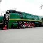 Stoomlocomotief 'P36' 4-8-4 en de Transsiberië Express