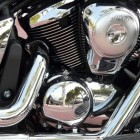Kawasaki Vulcan chopper club en icoon van de toermotors