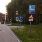 Shared Space - Minimum aan verkeersborden in het verkeer