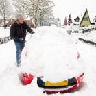 Tips bij sneeuwval in het verkeer