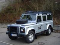De Land Rover 110 (of Defender): een zeer robuust product. / Bron: KlausNahr / Flickr