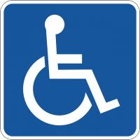 Invalidenparkeerplaats / Bron: Clker Free Vector Images, Pixabay
