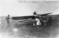 De Blériot XI / Bron: Library of Congress, George rantham Bain Collection, Wikimedia Commons (Publiek domein)