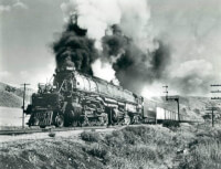 Big-Boy '4019' / Bron: Union Pacific Railroad, Wikimedia Commons (Publiek domein)